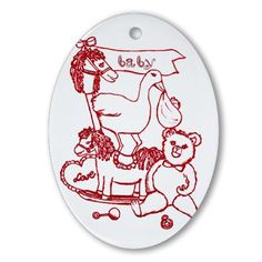 http://www.cafepress.com/+red_nursery_toys_in_room_by_kristie_hubler_ornamen,710871812 $12.50 before sale price #cafepress #cafepress.com #zazzle #ornament #diaper #France #Christmas #holidays #shopping #nursery #baby #hobby #horse #pillow #heart #rocking #rattle #teddy #bear #pacifier #stork #stuffed #animal