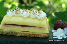La tarte au citron originale ou Finger lime de Christophe Roussel… un peu revisitée