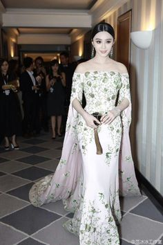 Fan Bingbing in Ralph & Russo Cannes Film Festival