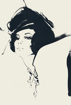fashion illustration: david downton