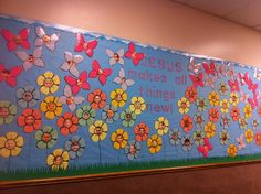 Spring Bulletin Board~Jesus makes all things new