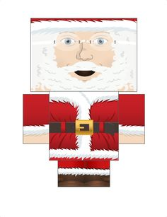 I just made Foldable Papa Noel, create your own at Foldable.Me