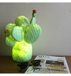 Lámpara cactus verde