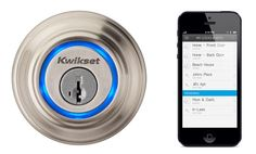 Kwikset Kevo smartphone-friendly wireless lock accessory that inches us closer to a fully connected home. $250, with pre-orders opening in mid-June.