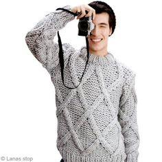 Tricoter un manteau en laine pour femme