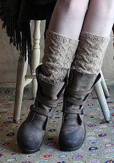 Wickershanks by Carol Sunday #legwarmers #knitting