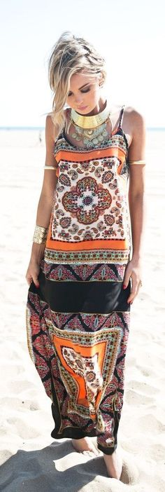 Love the dress, minus the arm bracelets and thick solid gold necklace….wrist cuff bracelet looks great