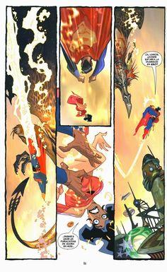 carlos meglia | SUPERMAN: INFINITE CITY. Dibujos de Carlos Meglia. DC Comics