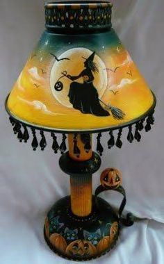 Scare Your Guests with These Spooky Halloween Lamps - I Like That Lamp