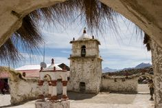 Iglesia Parinacota #pinChile #landscape