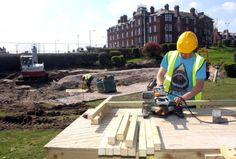 The new Skate Bowl at Marine Hall gardens on The Esplanade in Fleetwood is taking place - update pictures. Pictured is Jack Moore. 20th April 2015