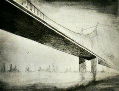 The bridge - lapiz sobre papel