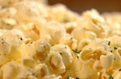 Rosemary, Parmesan and Black Pepper Popcorn Recipe  1 Tbsp. canola oil  1 cup popcorn kernels  2 Tbsp. unsalted butter , melted  2 Tbsp. finely chopped fresh rosemary  1 tsp. freshly ground black pepper  1/3 cup finely grated Parmesan  1/2 tsp. sea salt