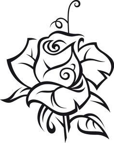 Wandtattoo Rose - Ralcom Design. Online Shop für Wandtattoos