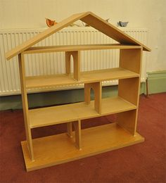 """Eva asked for a """"rabbit house"""" (dollhouse) for her third birthday , so we downed tools o..."""