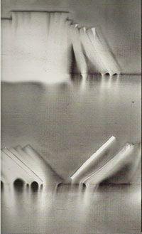 La bibliothèque en feu: naissance des images Installation picturale de Claudio Parmiggiani à Montpellier     http://www.vox-poetica....