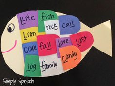 Simply Speech: Making a Splash In Speech With The Rainbow Fish!