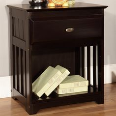 Shop American Furniture Classics 2960 Espresso Nightstand at ATG Stores. Browse our nightstands, all with free shipping and best price guaranteed.