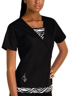 even if its a scrubs top for nurses i still think its cute n would rock it neways lol plus its baby phat!lol
