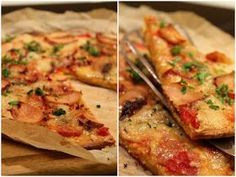 Mat for sjelen …: Verdens beste lavkarbo-pizza … – Oppskrifters Low Carb Recipes, Healthy Recipes, Indian Food Recipes, Ethnic Recipes, Coconut Flour, Cottage Cheese, Clean Eating, Food Porn, Food And Drink