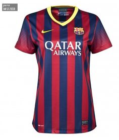 96bd7059b9654 wholesale Barcelona Home Womens Jersey Shirt