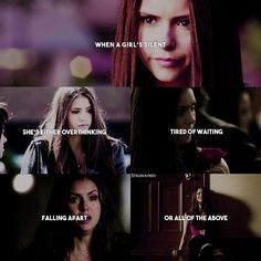 + [ Elena Gilbert ] • True 😌 I've made two new videos and I'm actually really…