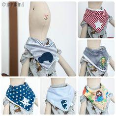 Meine DIY-Babyhalstuch-Sammlung