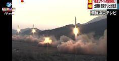A possibilidade de um míssil ou arma nuclear atingir o Japão e a Coreia do Sul se tornou mais real, segundo reportagem da BBC.