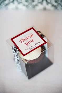 Cupcake Guest Favors