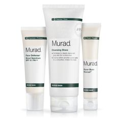 Murad Man Regimen | Murad Men's Skin Care Products Will have to get this for the hubby to try!