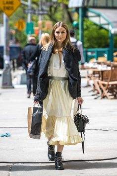 Olivia Palermo out and about in New York -01