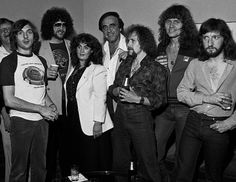 ELO (Electric Light Orchestra) and guest attend press reception at the Peachtree Plaza in Atlanta Georgia, July 06, 1978 (Photos By Rick Diamond)