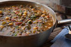 מרק חרירה צמחוני (צילום: שירן כרמל)