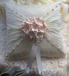 Raindrops and Roses Wedding Ring Cushion, Cushion Ring, Wedding Pillows, Ring Bearer Pillows, Ring Pillows, Shabby Chic Pillows, Nautical Pillows, Lace Ring, Flower Girl Basket