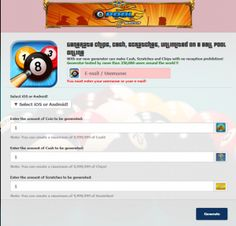 8 Ball Pool Cheats generator for cash and coins free 8 Pool Coins, Miniclip Pool, Free Gift Card Generator, Money Generator, Open Games, Pool Hacks, Games To Buy, Free Gift Cards, Kids And Parenting