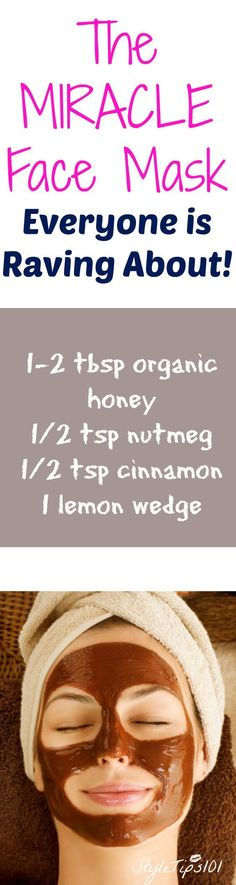 This is THE best face mask for acne you will ever use! All natural ingredients will soothe, disinfect, and erase acne and blackheads.