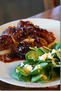 Roasted Beef Brisket with Apple Cider-Ginger BBQ Sauce and Caramelized ...