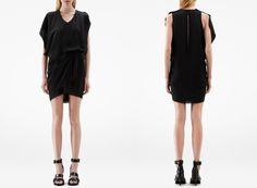 64fda96324fe Lej denne sorte Acne kjole str. S for kun 100 kr. om dagen på