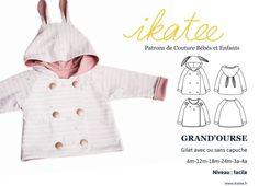 Veste Grand'ourse de Ikatee de 6 mois à 4 ans