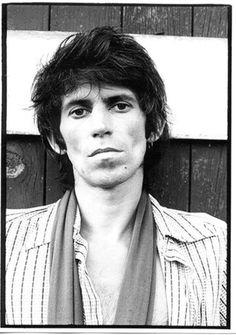 Keith Richards. North Salem, NY, 1977.  Copyright (c)Gerard Malanga