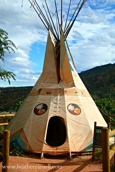 Tipi by Heather Yarnell, via Flickr