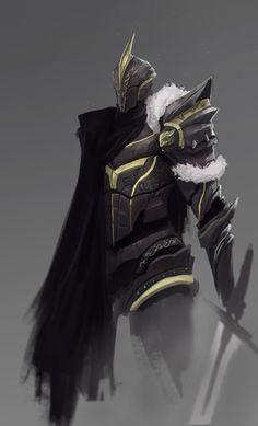 Knight by jeffchendesigns on DeviantArt