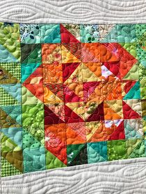 This week, the inspiration for Project Quilting 8 was the Carolina Lily. You can see the post here . The first thing I did was to do a littl...
