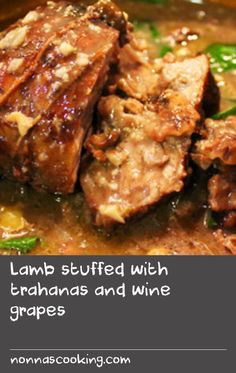 Lamb stuffed with trahanas and wine grapes Swede Recipes, Sweet Corn Recipes, Oven Recipes, Milk Recipes, Greek Recipes, Cracked Wheat, Eastern Cuisine, Ground Beef Recipes, Meal Planning