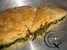 Spanakopita, Greek Recipes, Bread, Vegan, Cooking, Ethnic Recipes, Recipies, Pizza, Food