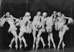 Ziegfeld girls by Alfred Cheney Johnston