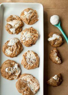 Peanut Butter Marshmallow Cookies @DessertForTwo #glutenfree