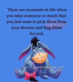 Or even just characters from a TV show. Winne The Pooh, Cute Winnie The Pooh, Winnie The Pooh Quotes, Winnie The Pooh Friends, Eeyore Quotes, Hug Quotes, Funny Quotes, Eeyore Pictures, Winnie The Pooh Pictures