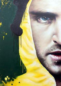 Walt & Jesse by rogue-one, a graffiti artist in Glasgow, Scotland Breking Bad, Breaking Bad Jesse, Photo Repair, Amazing Street Art, Art Base, Fan Art, Street Art Graffiti, Street Artists, Movies Showing