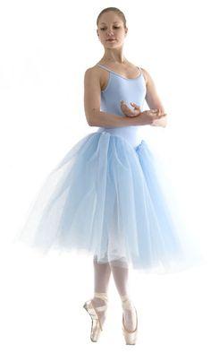 Romantic+Ballet+Tutu | Tutus - Gathered Net Skirt
